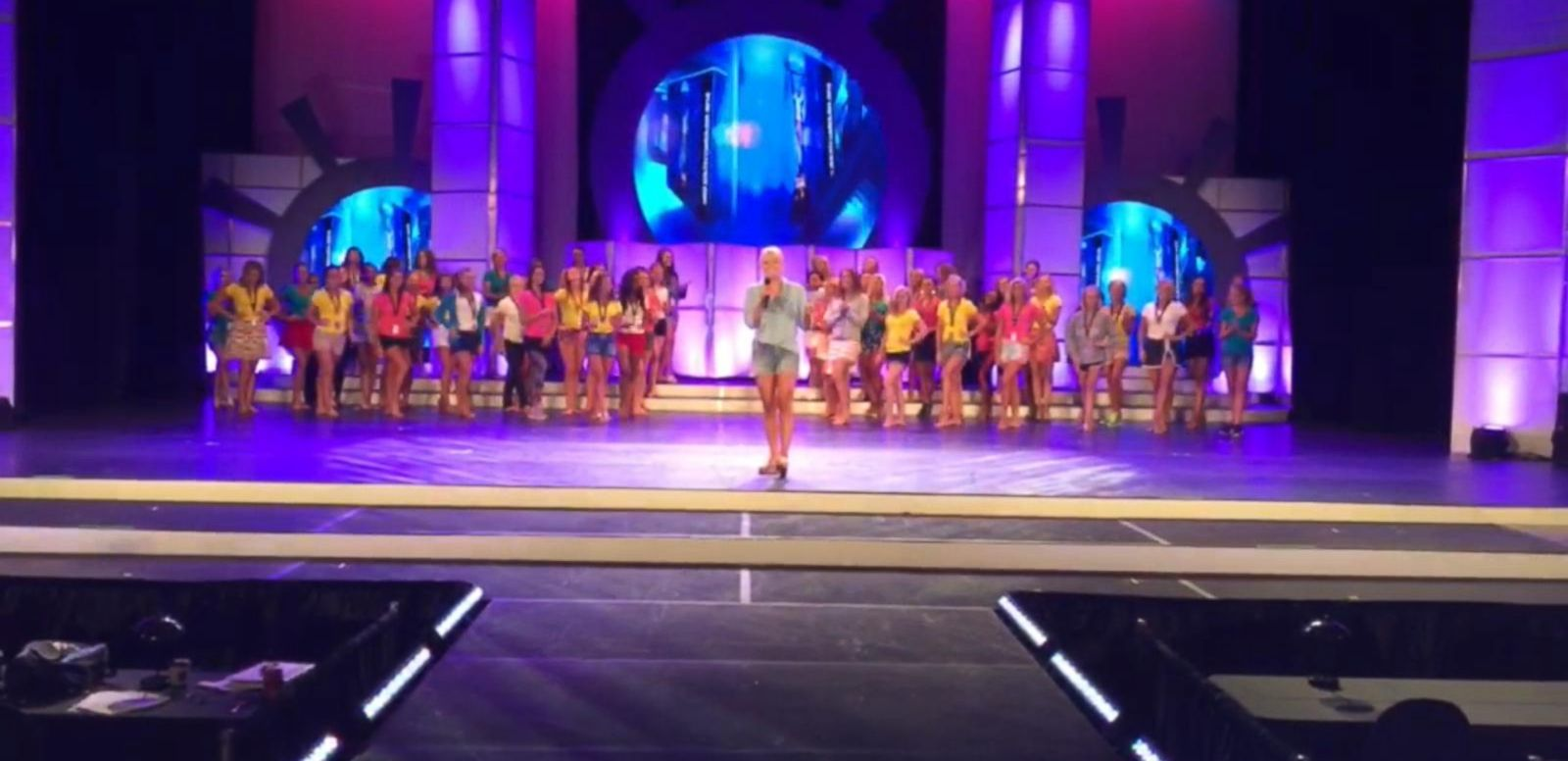 VIDEO: Behind the Scenes at the Miss South Carolina Pageant Rehearsal