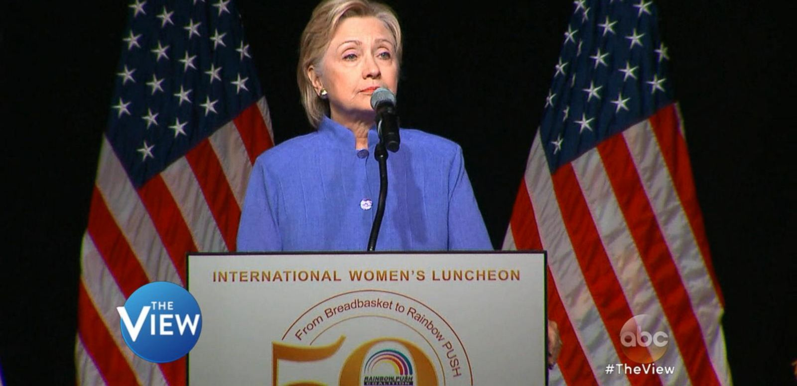 VIDEO; Hillary Clinton Admits She Has 'Work To Do' Regarding Voters Who Don't Trust Her