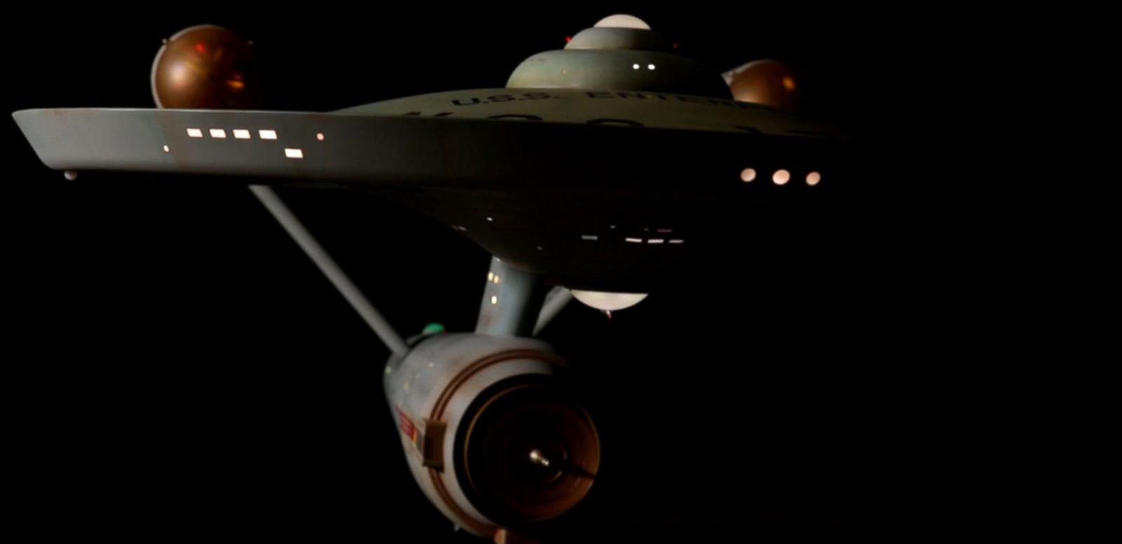 VIDEO: Restored 'Star Trek' Enterprise Model Lands in Its New Home