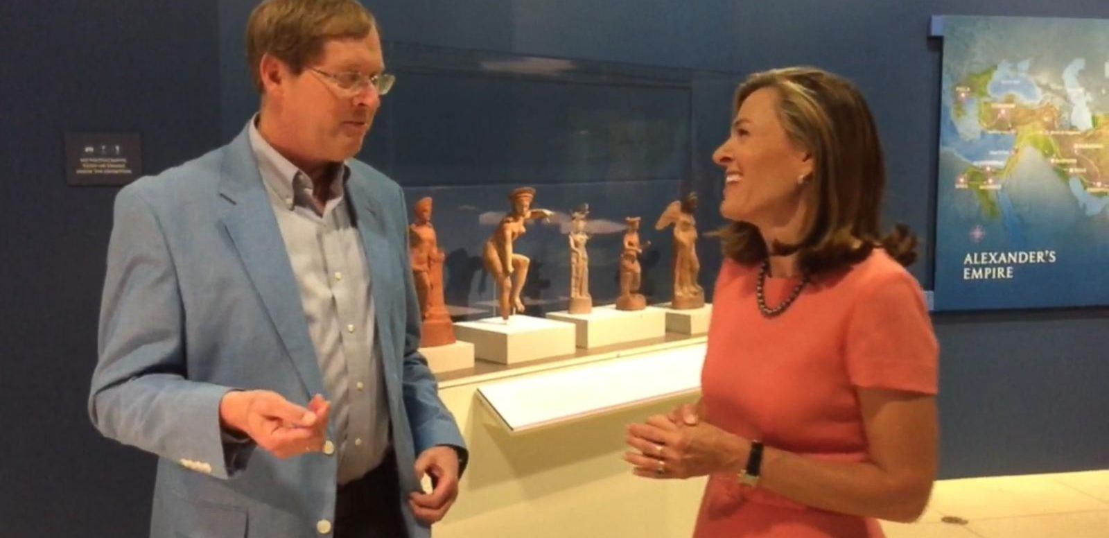 VIDEO: 'The Greeks' Artifact Display Stops in Washington D.C.