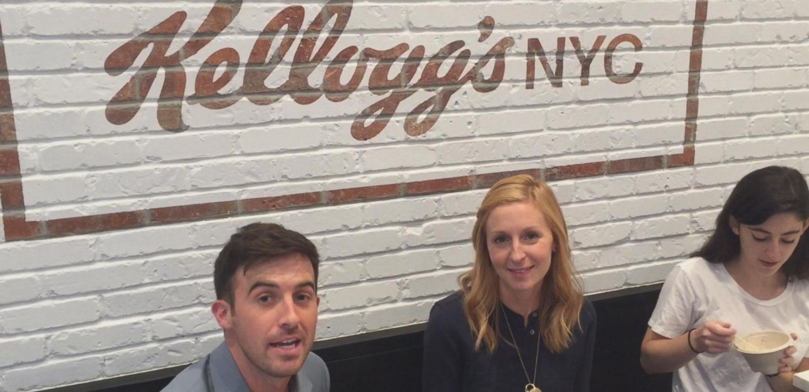 VIDEO: Get Your Breakfast Fix All Day at NYC's Kellogg's Cafe
