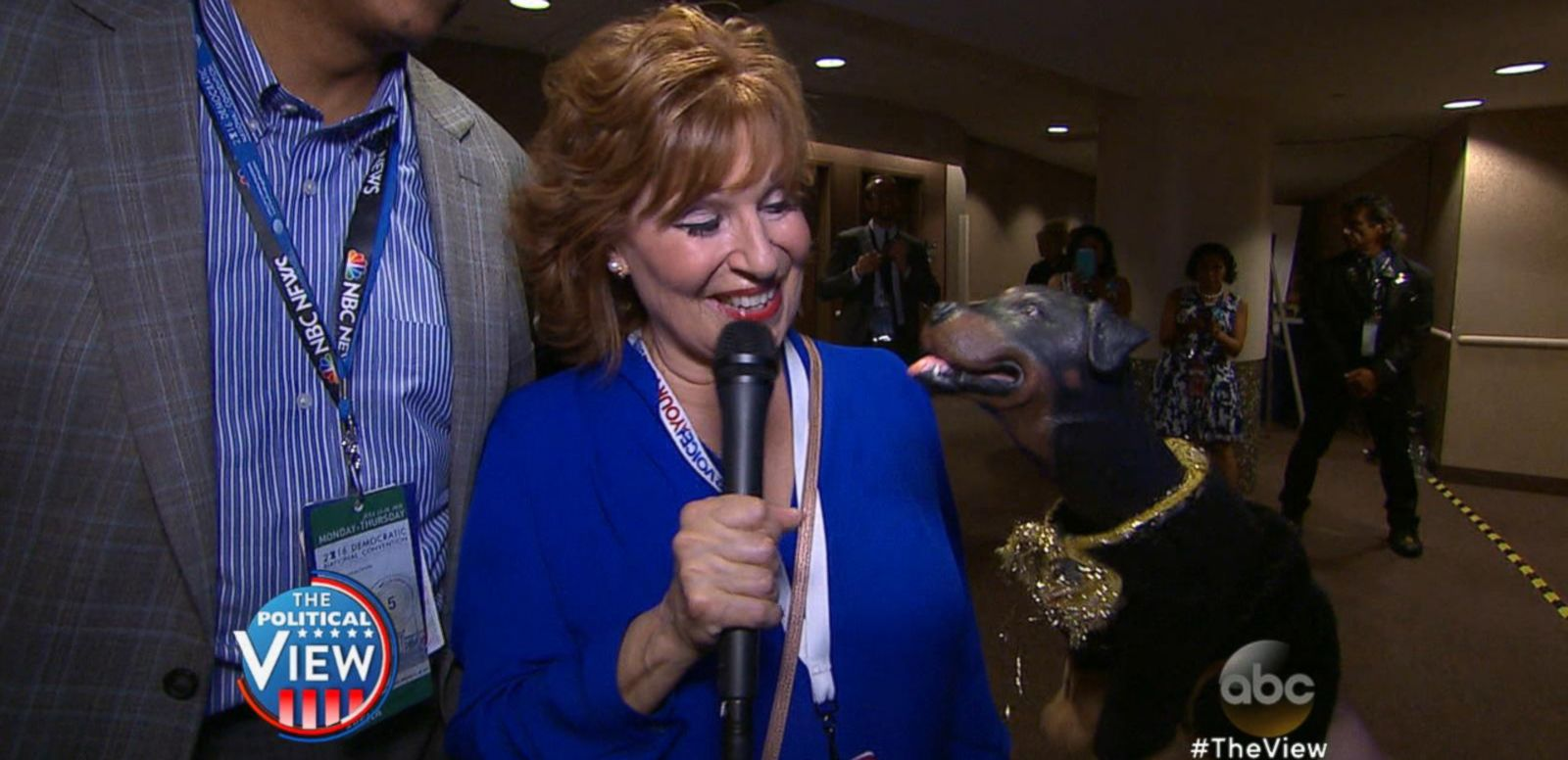 VIDEO: Joy Behar Talks to Nancy Pelosi, Delegates at DNC