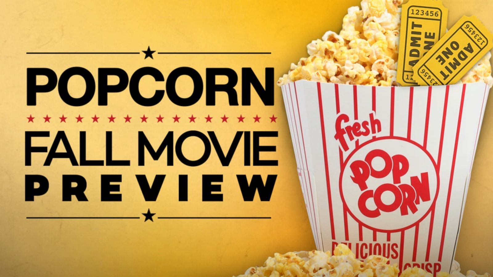 VIDEO: Fall Movie Preview: Peter Travers Names His Must-See Films