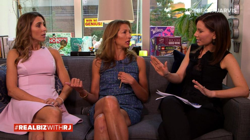 VIDEO: Alysia Reiner and Sarah Megan Thomas on Real Biz with Rebecca Jarvis