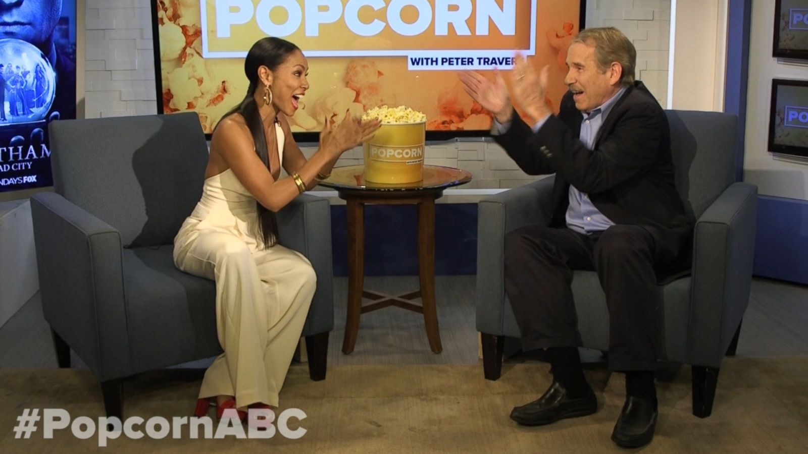 VIDEO: Jada Pinkett Smith's Enthusiastic Rendition of 'If You're Happy and You Know It'