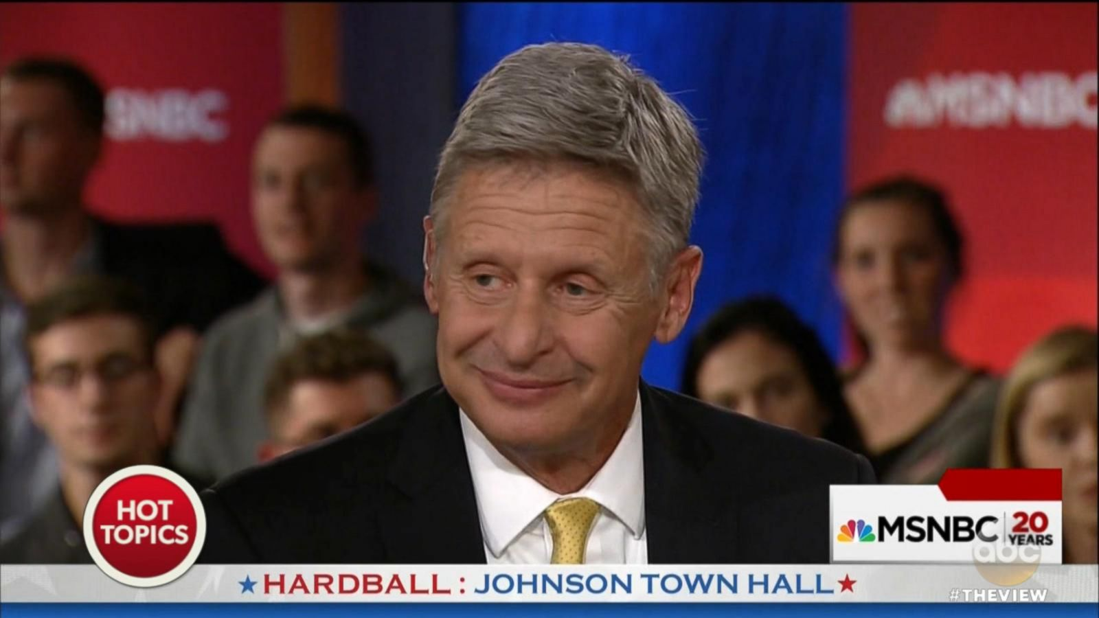 VIDEO: Gary Johnson Has Another 'Aleppo Moment,' is Unable to Name Foreign Leader