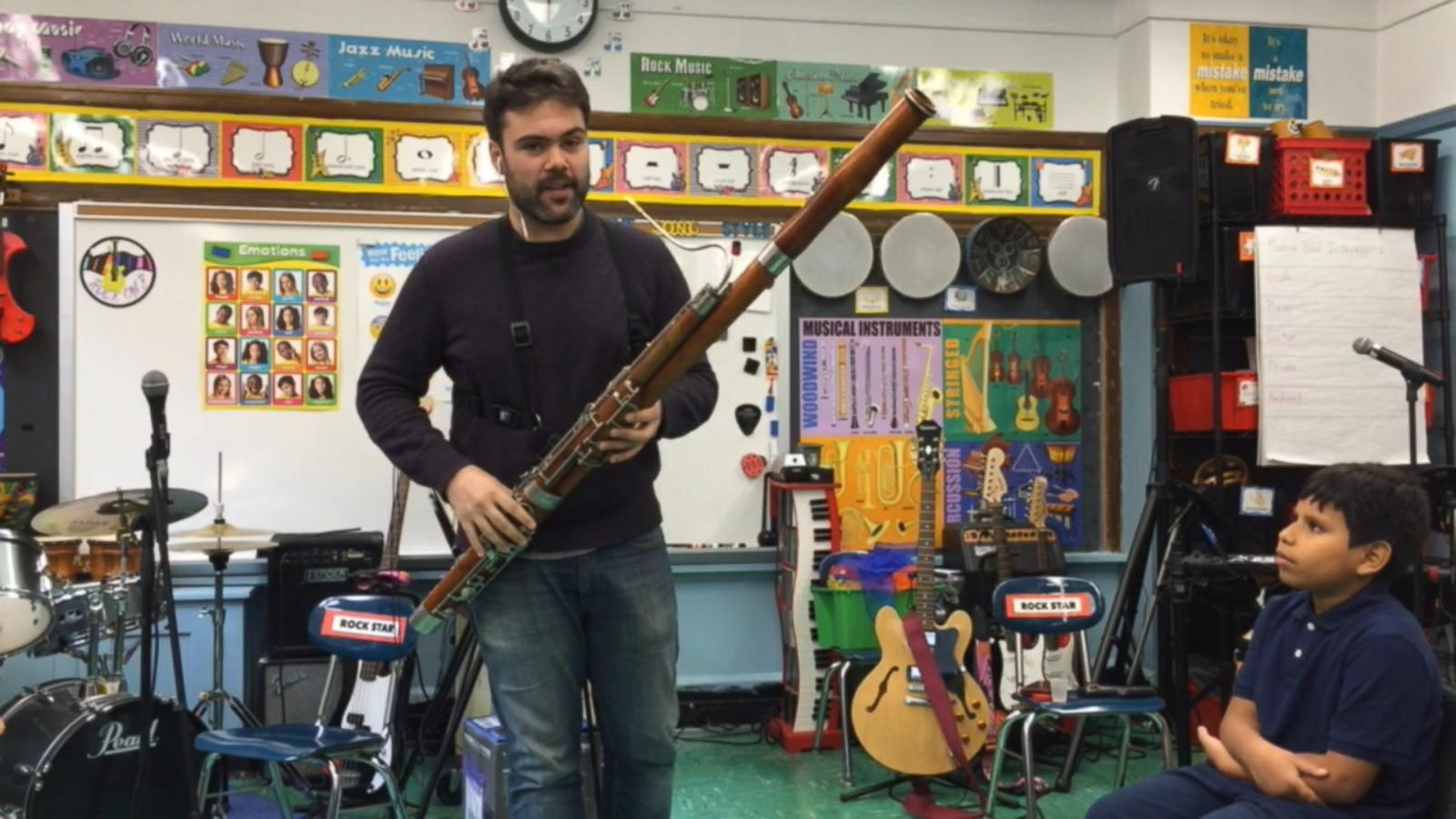 VIDEO: Classical City: Tempo, Tone and More Come to Life in a NYC Middle School