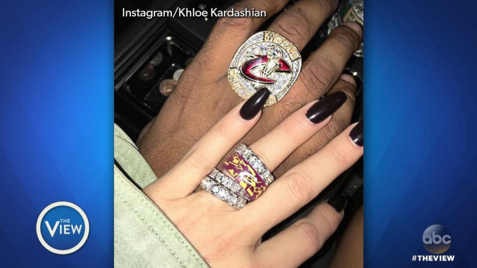 VIDEO: Khloe Kardashian Flaunts Diamond Rings on Instagram Following Sister's Robbery