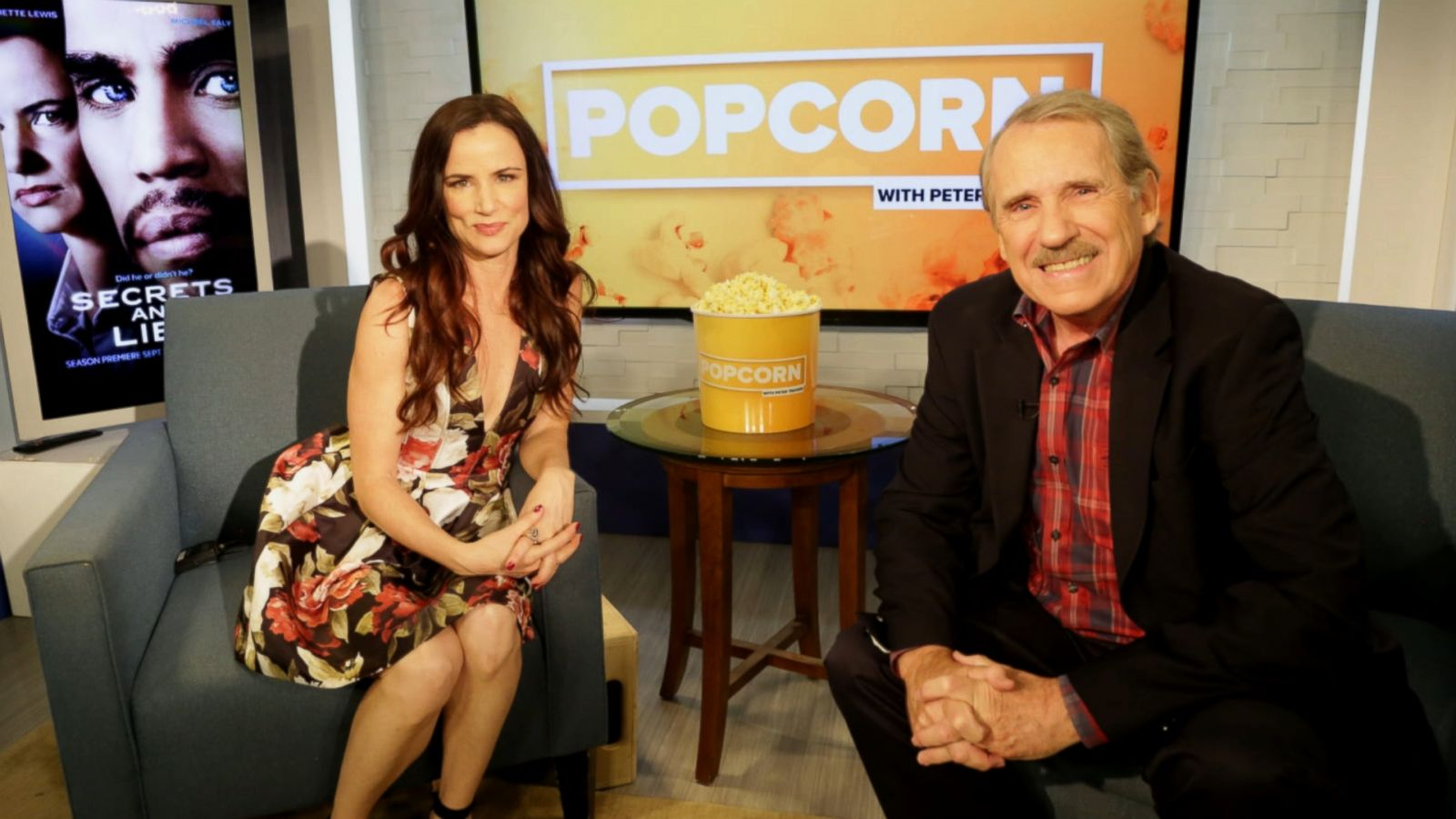 VIDEO: Juliette Lewis Talks 'Secrets and Lies'