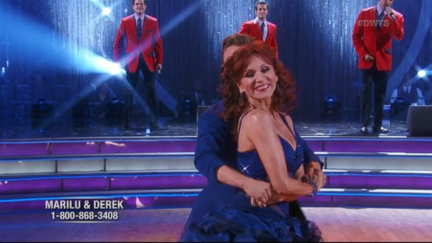 Actress Marilu Henner was eliminated from