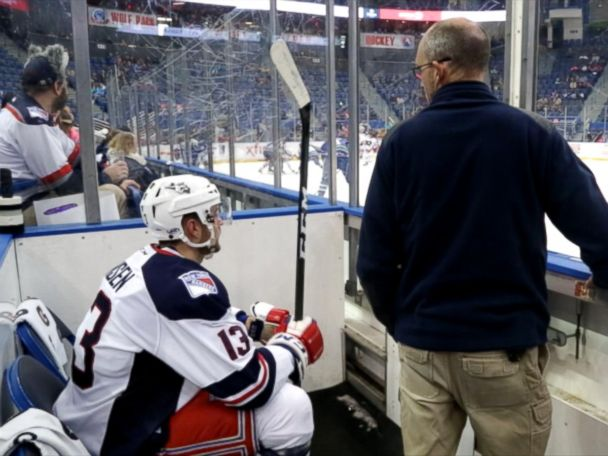 WATCH:  Inside a Hockey Penalty Box: Heated Players and a Constant Countdown