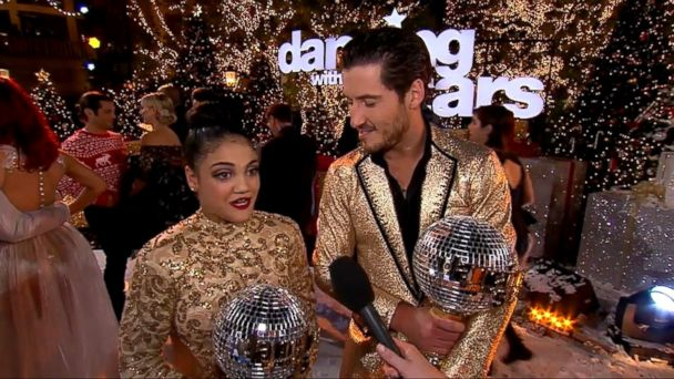 VIDEO: Olympic gymnast Laurie Hernandez danced away with the Mirrorball trophy Tuesday night in the season 23 finale of