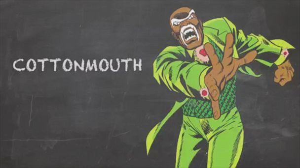 VIDEO: Named for a Snake - Cottonmouth - Marvel 101 Cornell