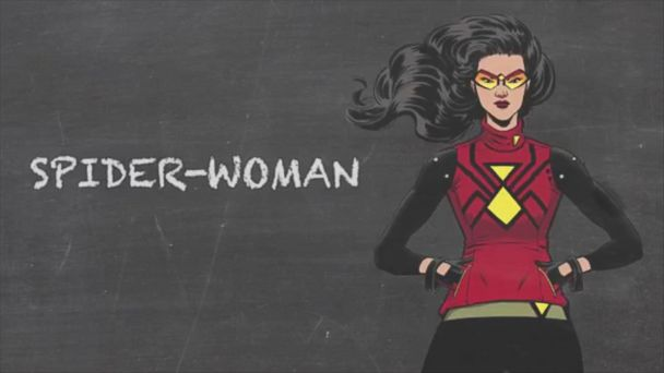 VIDEO: Spy & Hero - Spider-Woman - Marvel 101