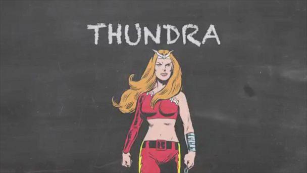 VIDEO: Warrior Woman - Thundra - Marvel 101