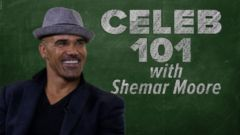 VIDEO: Celeb 101 with Shemar Moore