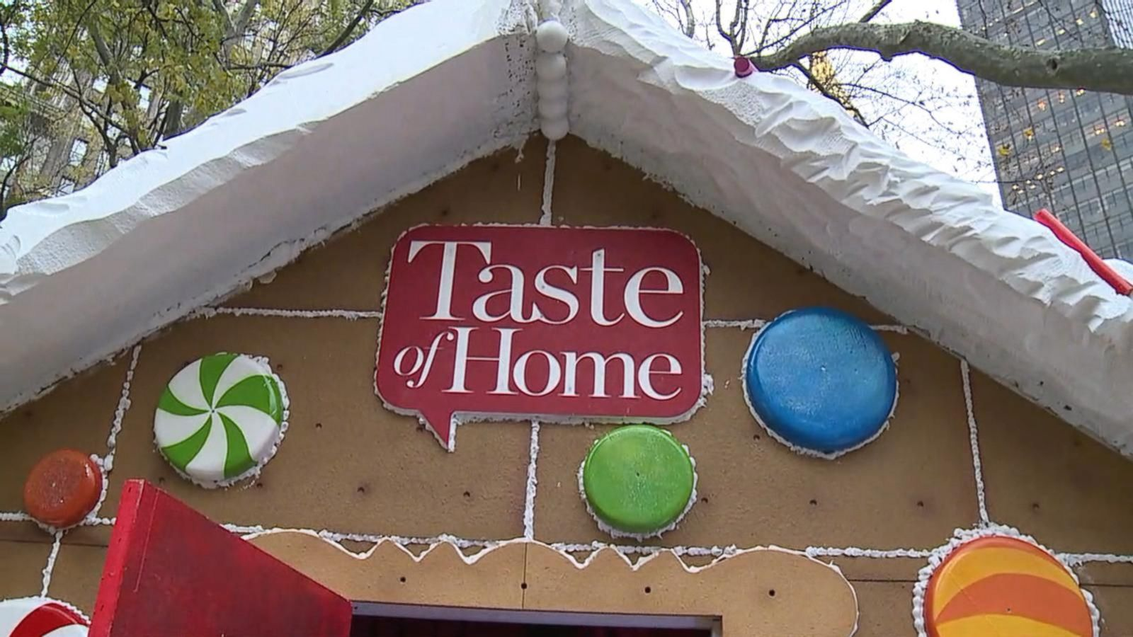 VIDEO: Tour the Gingerbread Village at NYC's Madison Square Park