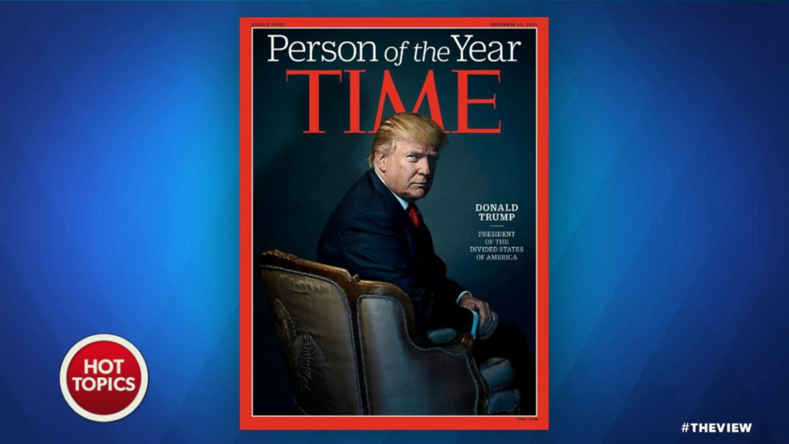 VIDEO: Donald Trump Named Time's Person of the Year