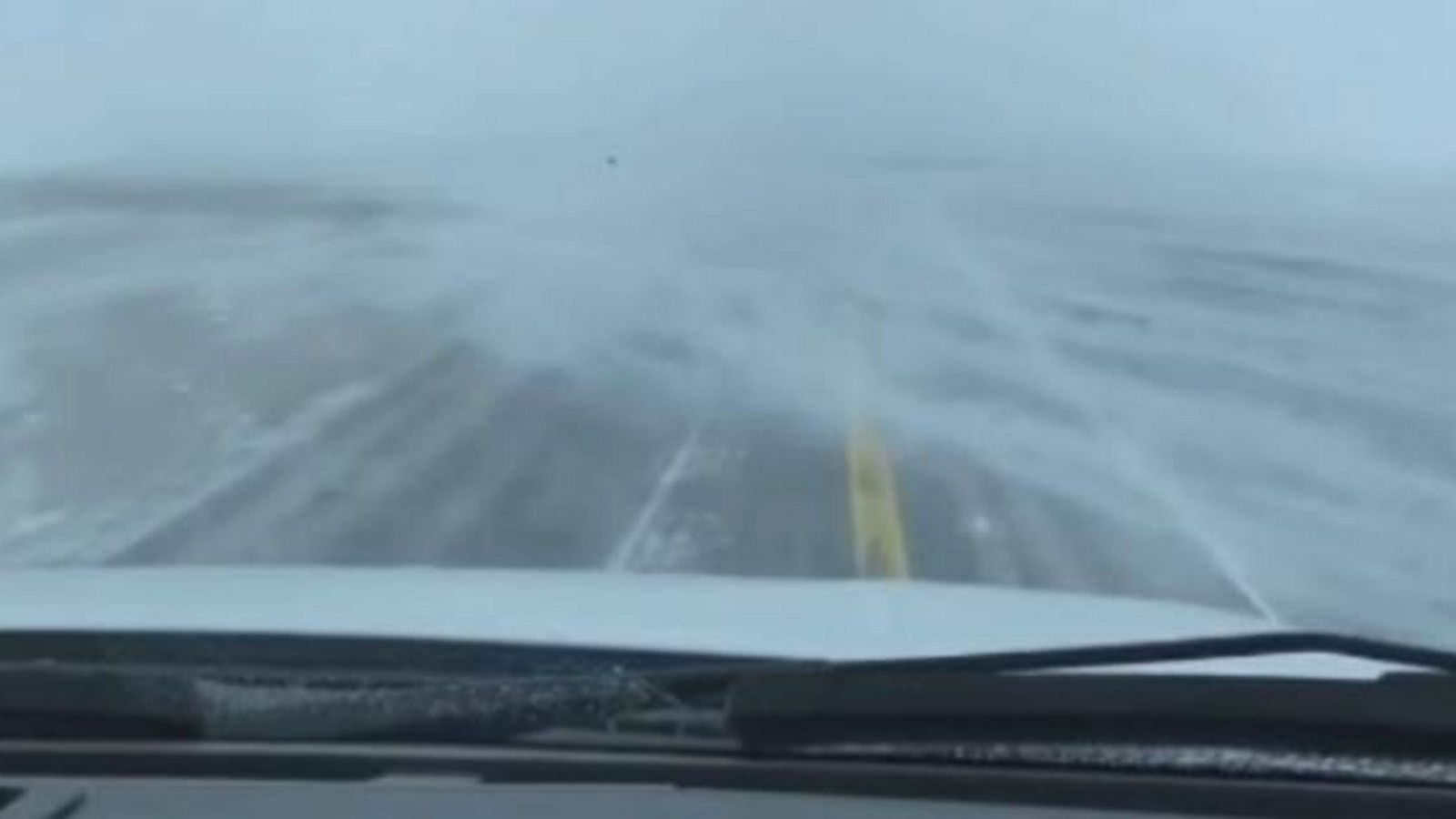 VIDEO: Winter Storm Hits North Dakota