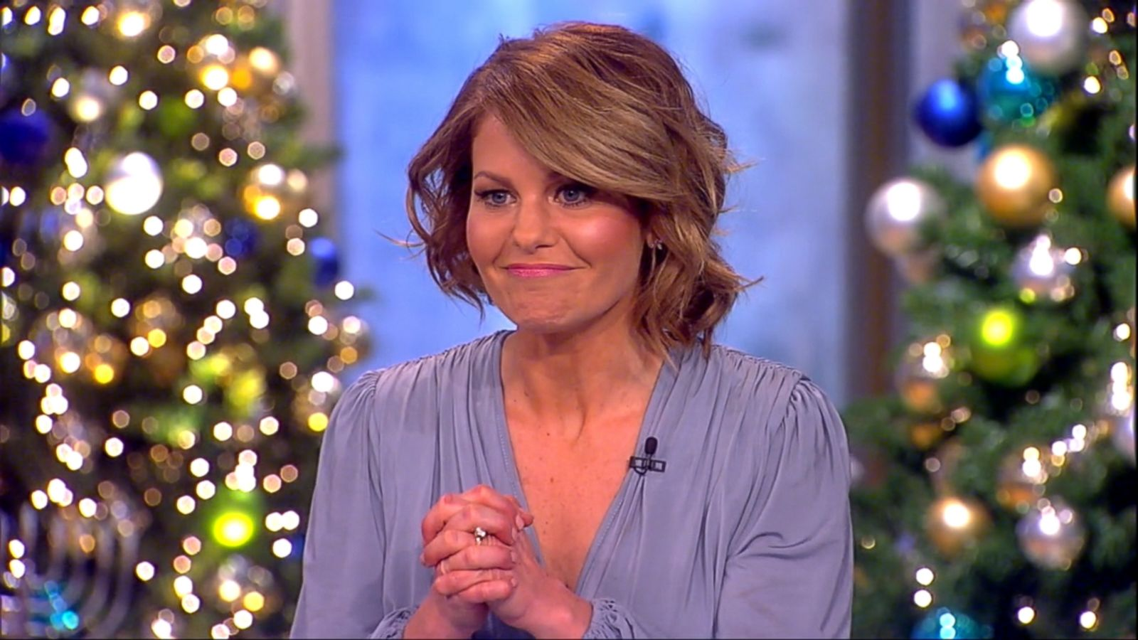"""VIDEO: It was a morning touched with a bit of sadness and gratitude, as Candace Cameron Bure announced she's leaving """"The View."""""""