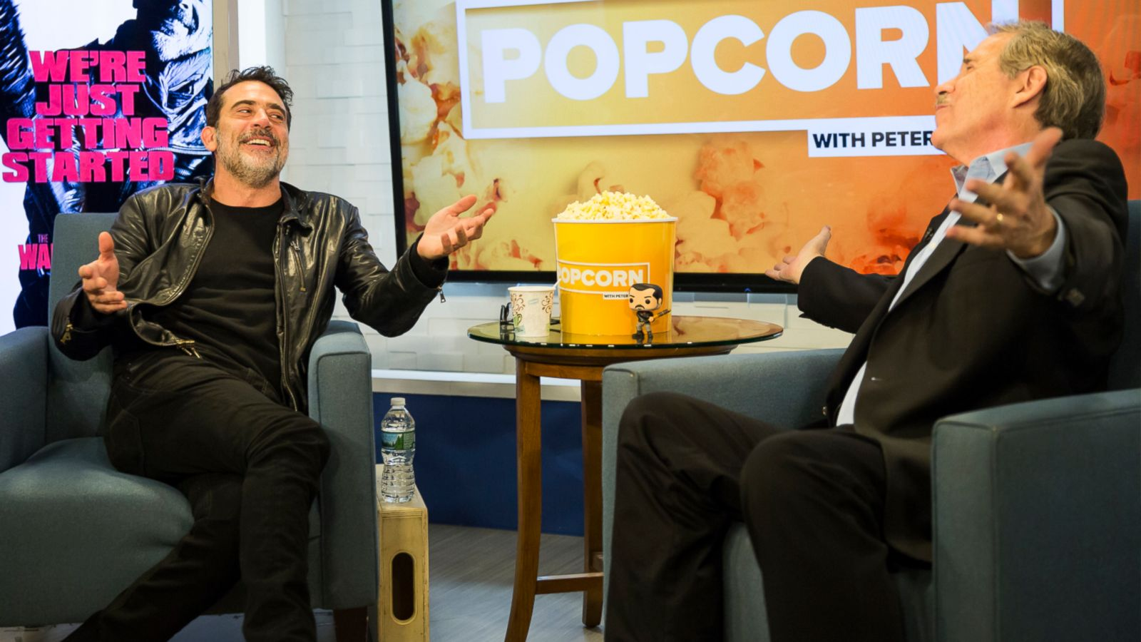 VIDEO: 'Walking Dead's' Jeffrey Dean Morgan Squirms and Fidgets When Asked to Sing