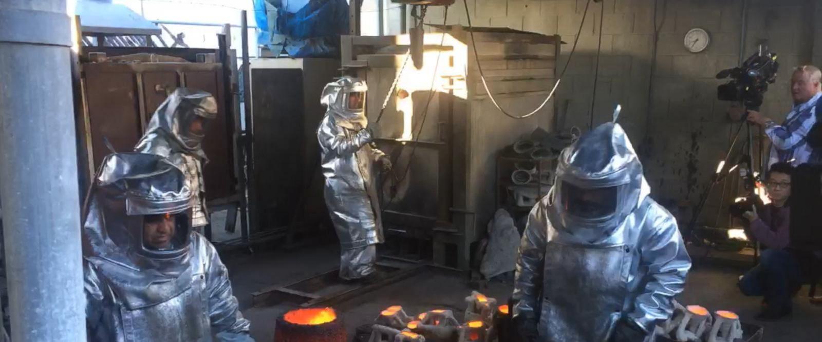 VIDEO: Sculpting An Icon: Making the SAG Award