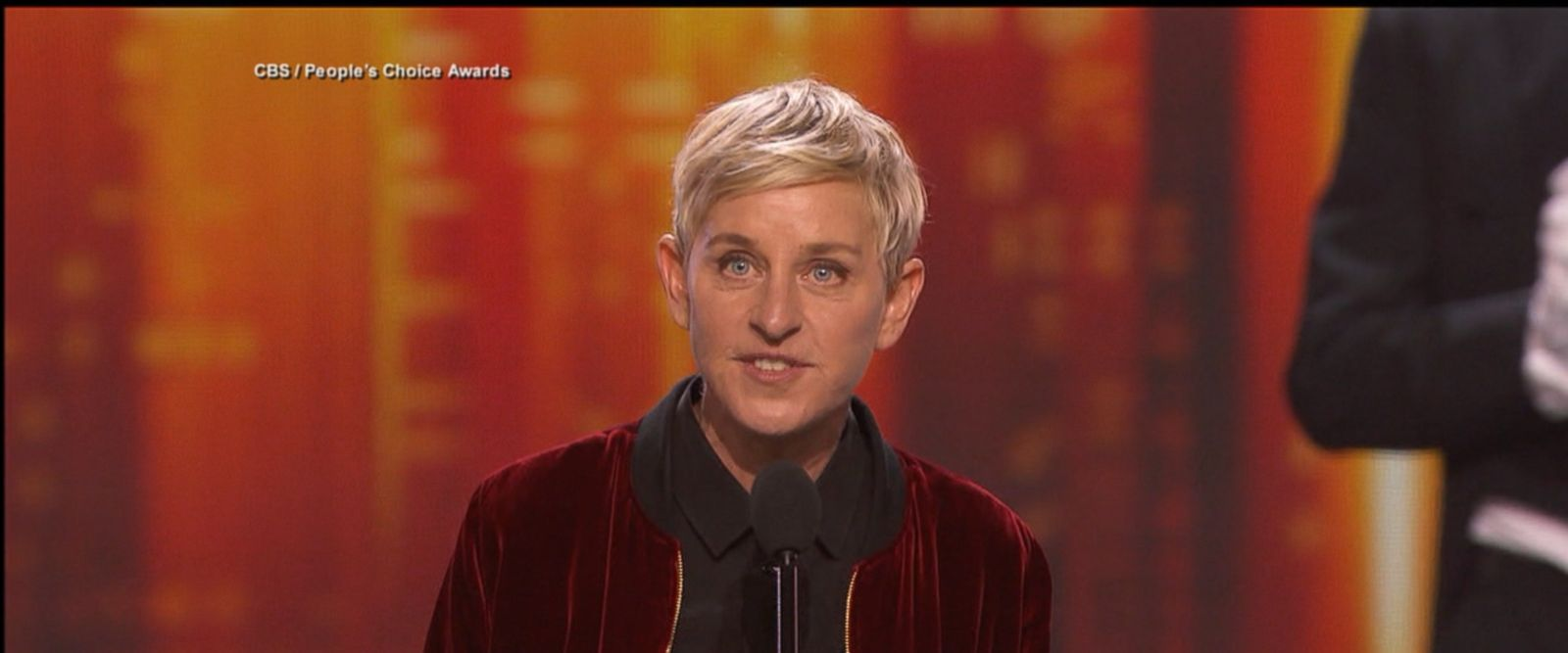 VIDEO: Ellen DeGeneres made People's Choice Awards history Wednesday night, winning three trophies to bring her lifetime total wins to 20, the most of any person in the award show's history.