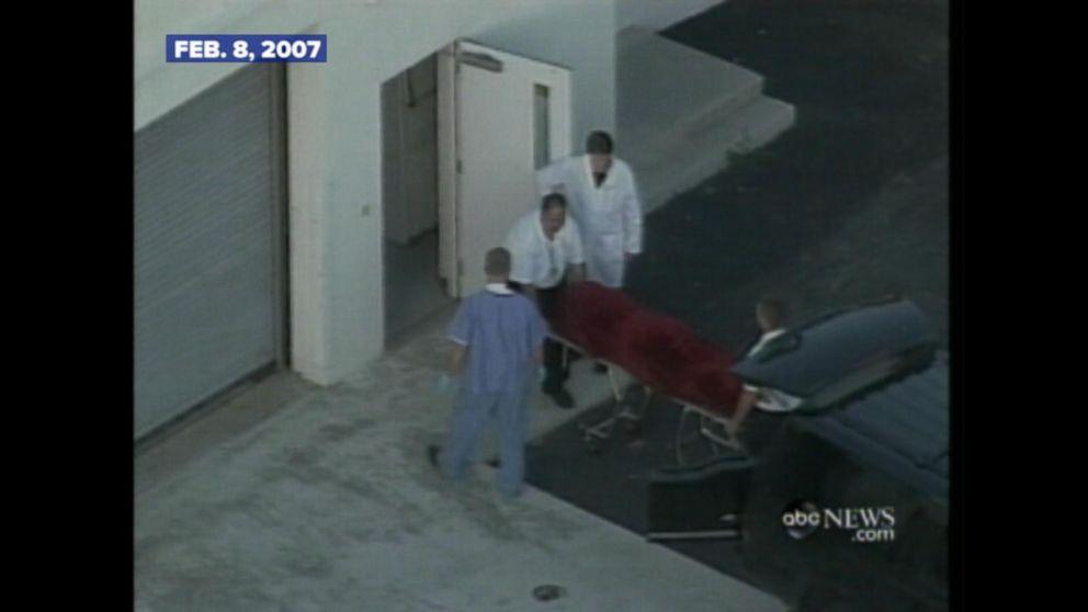 FEB. 8, 2007: Anna Nicole Smith found dead in a Florida hotel room.