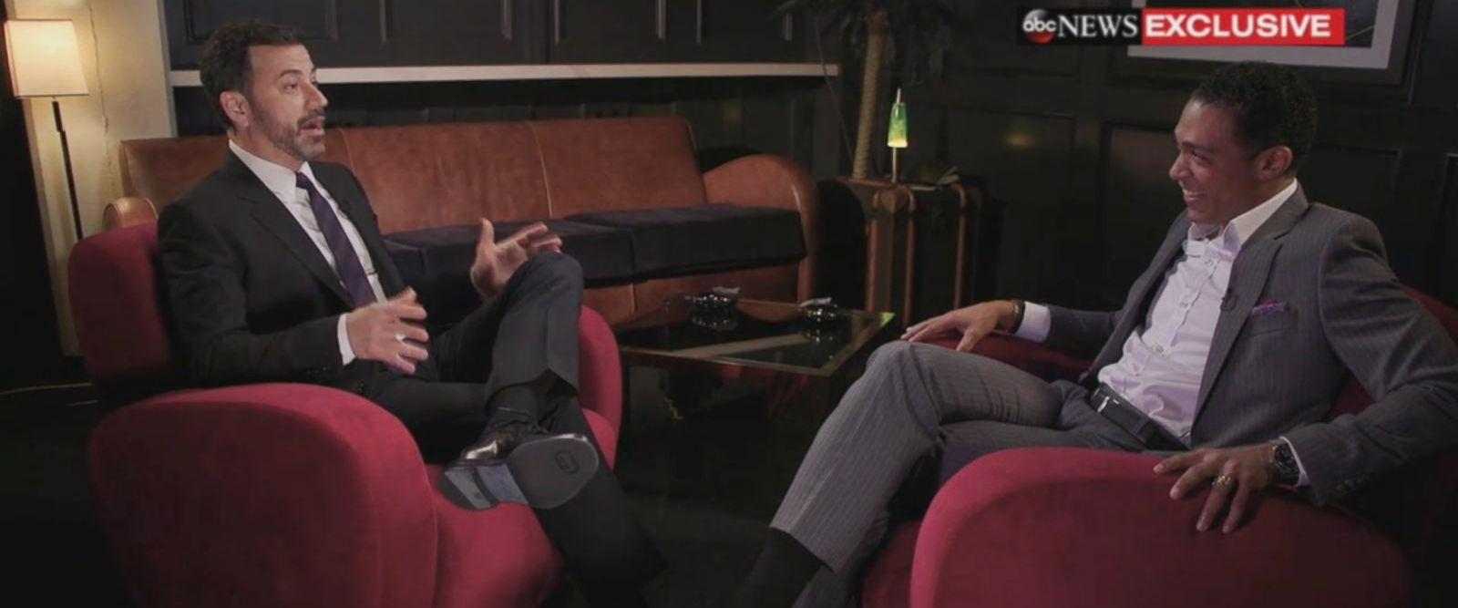 VIDEO: Oscars host Jimmy Kimmel preparing for 'standoff' with nominee Matt Damon