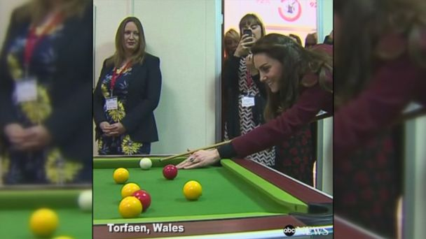 VIDEO: Princess Kate had her first official engagement with Action for Children in Wales since taking over from Queen Elizabeth II in December as the organization's royal patron.