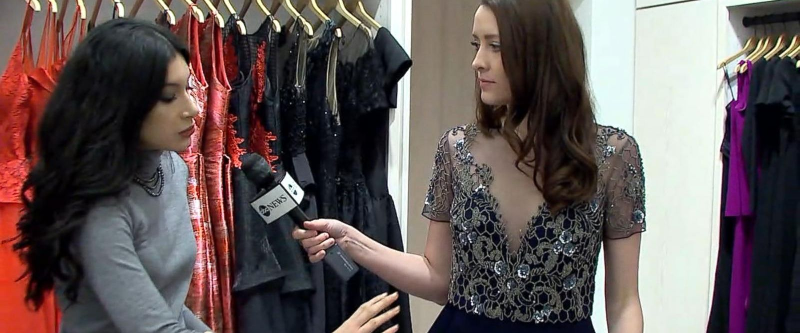 VIDEO: Getting the perfect look for Oscar Sunday's Red Carpet at Rent The Runway