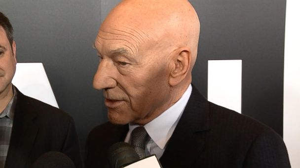 VIDEO: Patrick Stewart at the NY premiere of