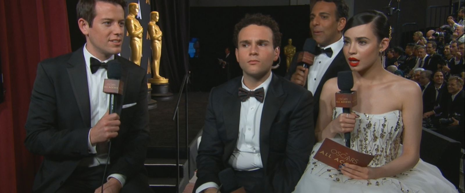 Even seasoned, backstage broadcasters were amazed at how the 89th annual Academy Awards ended.