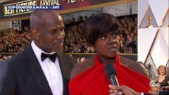 Viola Davis said the fact that her character was strong is what drew her to the role.