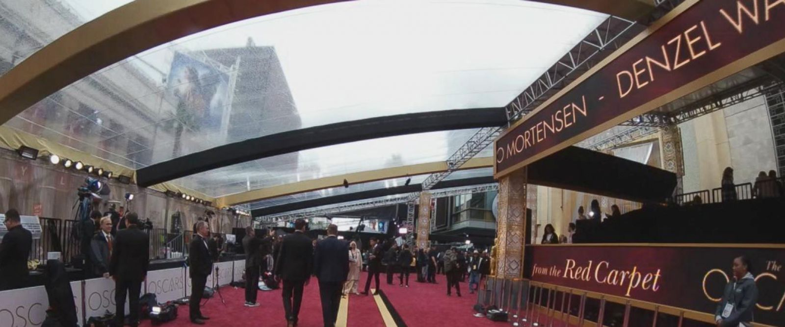 VIDEO: Getting ready for the Oscars
