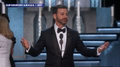 He joked and also made fun of Matt Damon; watch Jimmy Kimmels best gags during the 89th annual Academy Awards.