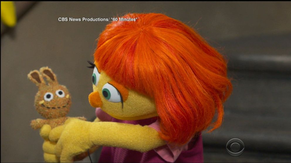 WATCH:  Julia, a 'Sesame Street' Muppet with autism, to make her TV debut