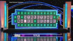VIDEO: A Wheel of Fortune contestant who was one letter away from solving the puzzle during Tuesdays show added an X-rated twist to the title of a Tennessee Williams classic.