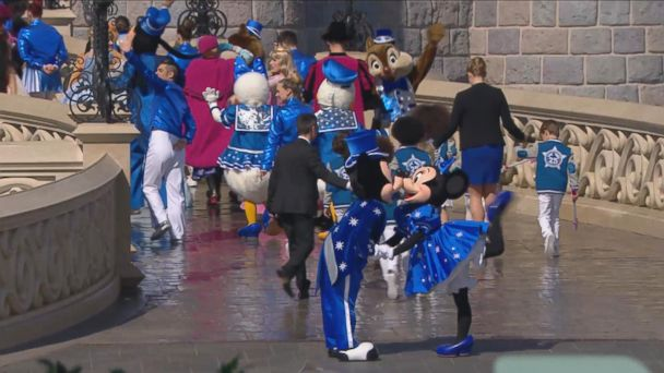 VIDEO: Disneyland Paris 25th Anniversary - Grand Opening Ceremony