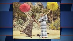 VIDEO: The actress posted sweet photos of tying the knot with wife Lauren Morelli.