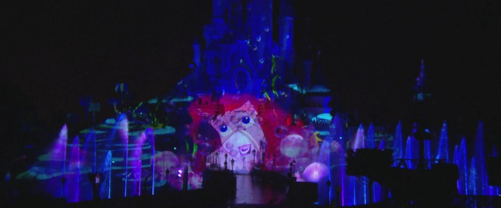 VIDEO: Disneyland Paris 25th Anniversary - Disney Illuminations