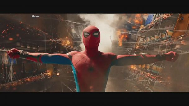 VIDEO: The film stars Tom Holland, Michael Keaton and Robert Downey Jr.