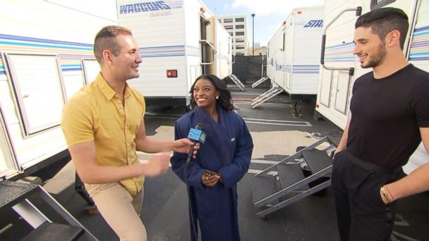 VIDEO: Behind the scenes of 'Dancing With the Stars'