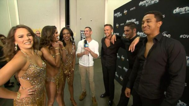 VIDEO: 'Dancing With the Stars' boy band night