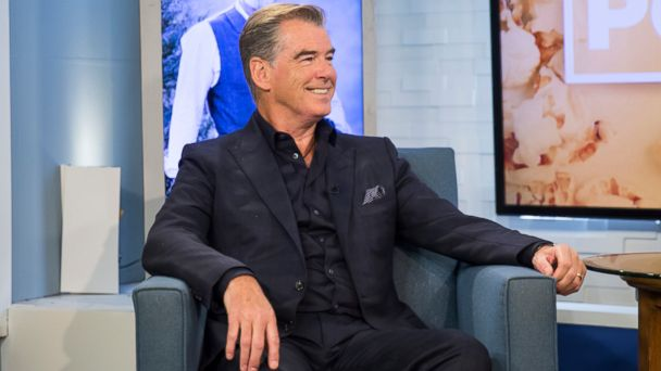 VIDEO: Pierce Brosnan offers up a soulful rendition of 'The Mountains of Mourne'