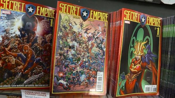 VIDEO:  Inside Marvel: Captain America leads Hydra takeover in 'Secret Empire'