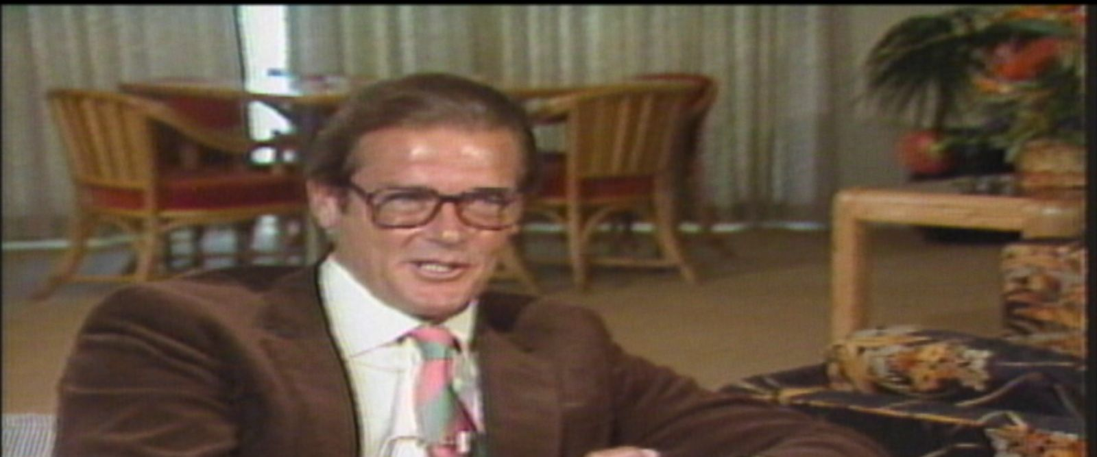 """""""In England, they stop shooting at 5:30 ... because the English like to go home at 6 o'clock and watch whatever their favorite soap opera is and have their steak and kidney pie,"""" Roger Moore told ABC News."""