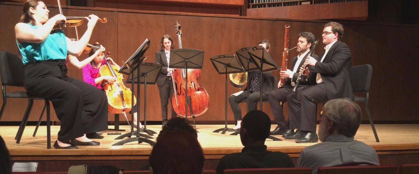 VIDEO: Carnegie Hall's Ensemble Connect performs at Paul Hall at The Juilliard School