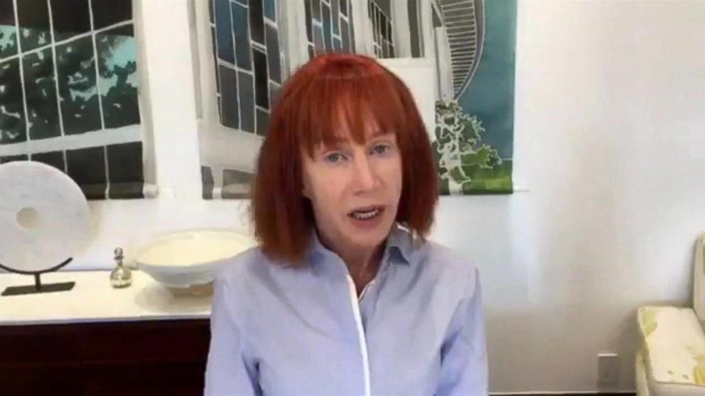 Kathy Griffin Faces Backlash For Beheaded Donald Trump Photo Video