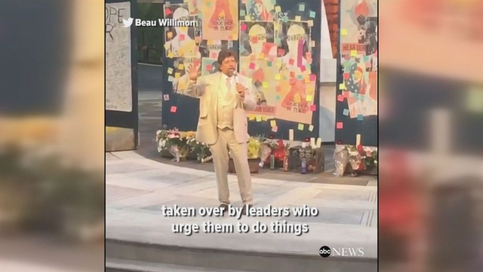 WATCH:  'Julius Caesar' director gives powerful speech before controversial play's debut